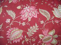 coral mauve beige flower print Decorative throw pillow cover 2 pocket 16 x 16