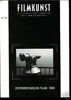 Filmkunst-Österreichische Filme -1993 -Nr. 142 --