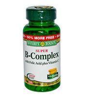 Nature's Bounty Super B-Complex with Folic Acid Plus Vitamin C