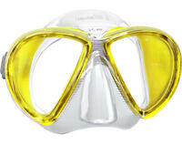 Mares X-VU Liquidskin Mask Scuba Diving Free Dive YL