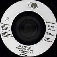 "PAUL WELLER shadow of the sun/sunflower/wild wood PNME 1 uk go/nme 7"" WS EX/"