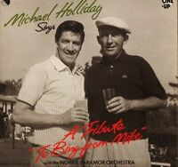 MICHAEL HOLLIDAY sings a tribute to bing from mike OU2205 emi one up LP PS EX/EX
