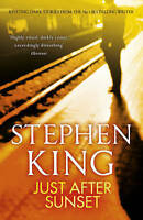 Just After Sunset by Stephen King (Paperback) New Book