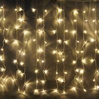 Modern LED Outdoor Waterproof Lamp Christmas Wedding Curtain String Fairy Light