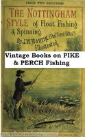 Pike & Perch Fishing Vintage Angling Books on Disc Gift for the Coarse Fisherman