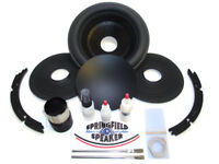 """Alpine Type R 10 Recone Kit -Dual 2 Ohm- + Install Kit - 1.96"""" COIL VERSION ONLY"""