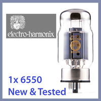 1x NEW Electro Harmonix 6550 EH 6550EH Power Vacuum Tube TESTED
