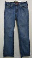 Super schöne H.I.S Hüft  - Hose Jeans, Baumwolle blue used Gr. 38 Wie neu !!!