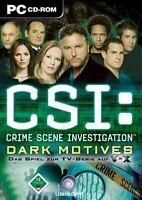 CSI ***** Dark Motives ** Deutsche Version *** Neuwertig
