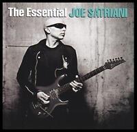 JOE SATRIANI (2 CD) THE ESSENTIAL CD ~ GUITAR VIRTUOSO ~ 80's ROCK *NEW*