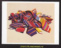WAYNE THIEBAUD Tie Pile (1969) ART ARTWORK PAINTING POSTCARD