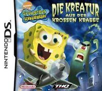 NINTENDO DS 3DS SPONGEBOB DIE KREATUR AUS DER KROSSEN KRABBE Neuwertig