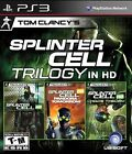 Tom Clancy's Splinter Cell: Trilogy (Sony PlayStation 3, 2011)