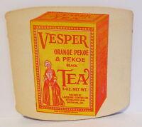 1940's LORD CALVERT COFFEE & VESPER TEA ADVERTISING NEEDLE BOOK BALTIMORE MD