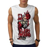 Just A Flesh Wound Men Sleeveless T-shirt NEW | Wellcoda