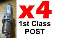 4x Bosch FR7DC+ Spark Plugs Peugeot 206 1.1 - 1.4 - 1.6