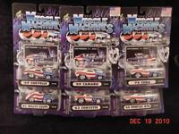 2001 Muscle Machines 9-11-01 Stars Stripes USA Set of 6 TH