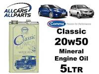 Comma Classic 20w50 Mineral Multigrade Engine Oil 5L X 1 CLA2050