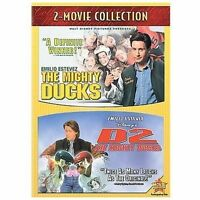 Mighty Ducks/D2: The Mighty Ducks (DVD, 2008) - Discs Only - Free Ship