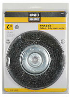 DISSTON COMPANY 6-Inch Coarse Crimped Wire Wheel