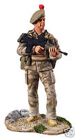 BRITAINS SOLDIERS MUSEUM COLLECTION BLACK WATCH 2006---10014 painted metal