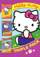 Hello Kitty Triple Pack (goes to the movies, saves the day, plays pretend),New D