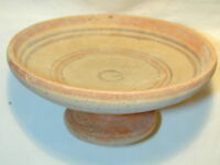 ANCIENT GREEK  POTTERY PEDESTAL PLATE 3rd Century BC