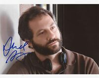 DIRECTOR & PRODUCER: JUDD APATOW SIGNED 10x8 ACTION PHOTO+COA *ANCHORMAN 2*