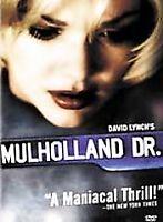 MULHOLLAND DR. rare Thriller dvd DAVID LYNCH Naomi Watts JUSTIN THEROUX 2001