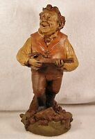JUAN 1983~Tom Clark Gnome-Figurine~Cairn Studio Item #70-Retired~Ed #75~Story