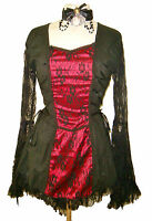 Steampunk Victorian Raven dress RB2011