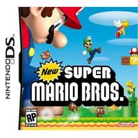 New Super Mario Bros game Nintendo DS DSI DSL DSIXL 3DS