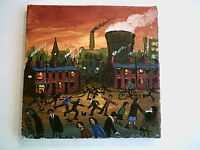 JAMES DOWNIE SIGNED ORIGINAL OIL PAINTING - DANCING IN THE STREET view Gallery..