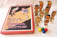 NEW COMICAL SKITTLES VINTAGE 1950's STYLE TRADITIONAL GAME HOM  SALE !!