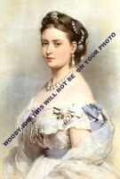 "mm604 - Princess Victoria daughter QV & mother Kaiser Wilhelm II art -photo 6x4"""