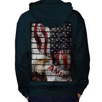 American Eagle Flag USA Men Hoodie Back S-5XL NEW | Wellcoda