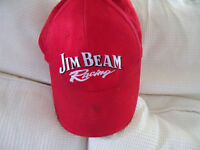 Red Jim Beam  Robby Gordon Racing Red Hat