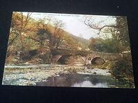 Old Cumbria Postcard Ambleside Brathay Bridge