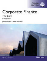 Corporate Finance: The Core, DeMarzo, Peter, Berk, Jonathan, Good, Paperback