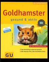 Goldhamster-gesund und aktiv-GU-Tierratgeber-