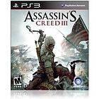 ASSASSIN'S CREED 3 III brand new video game for PS3 PlayStation 3