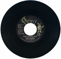 """DON VARNER  """"TEAR STAINED FACE c/w MOJO MAMA""""    NORTHERN SOUL      LISTEN!"""