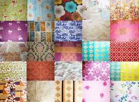 RETRO 100% COTTON large 70's prints VARIOUS cushion curtains fabric