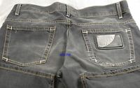 $750 Love Moschino Men Jeans 33 ZigZag Stitch Business Casual Stylish Gift NEW
