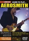 GUITAR TUITIONAL LEARN TO PLAY AEROSMITH LICK LIBRARY GUITAR 2 DVD SET