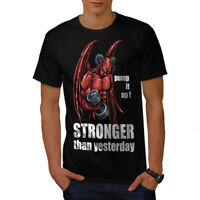 Gym Devil Satan Horror Men T-shirt S-5XL NEW | Wellcoda