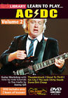 LEARN TO PLAY ACDC VOLUME 2 LICK LIBRARY GUITAR DVD TUTORIAL TUITIONAL