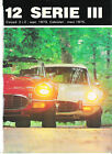 JAGUAR TYPE E V 12 Série 3 / 1988 ARTICLE PRESSE REPORTAGE COUPURE MAGAZINE