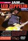LICK LIBRARY JAM WITH LED ZEPPELIN VOLUME 2 DVD CD PLAY ALONG TUTORIAL TUITIONAL