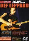 LICK LIBRARY JAM WITH DEF LEPPARD LEARN PLAY ALONG ELECTRIC GUITAR 2 X DVD & CD